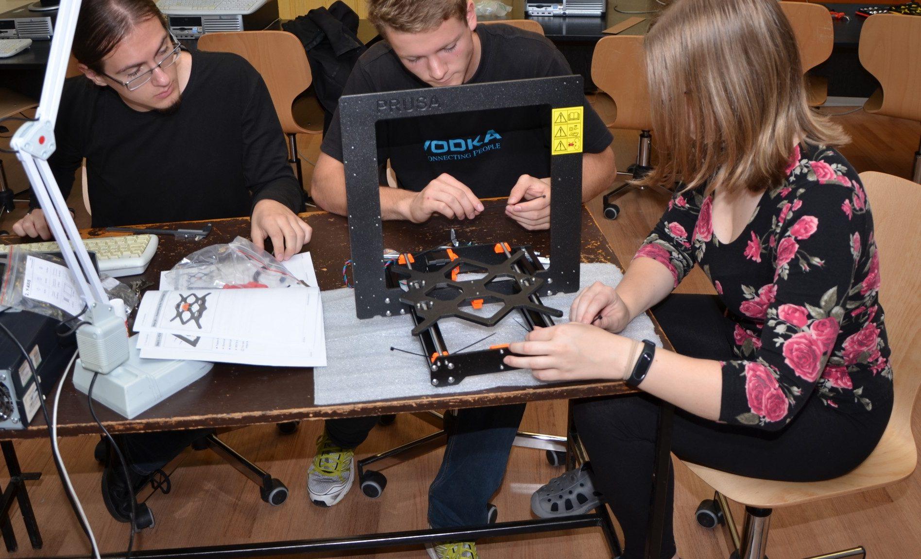 Stavíme 3D tiskárnu Průša i3 MK3