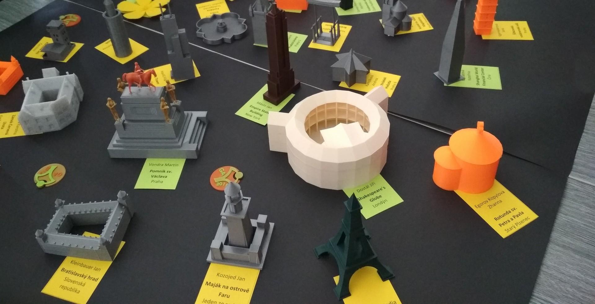 Úspěšné 3D modely od studentek Jiráskova gymnázia