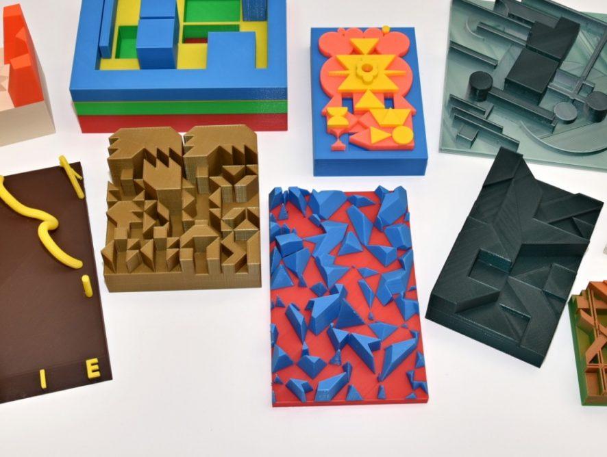 3D tiskárna a abstraktní umění